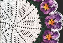 Crochet doilies and lace / by Sandra Massey