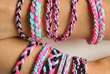 Friendship Bracelets (Alix) / by Melissa Hoffland Ullmann