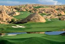 Mesquite is a Golfers Paradise! / Mesquite, NV is known for the World Class Golf Courses it has to offer and Highland Estates Hotel is the perfect place to stay while you play!   We are less than 10 min. away from all the courses and with beautiful weather year round, anytime of the year is a great time to visit Mesquite, NV! / by Highland Estates Hotel