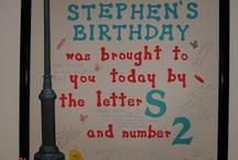 Boy's Birthday ideas / by Wendy McGreevy
