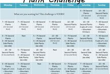 Fitness: monthly challenges / by Sarah Hamacher
