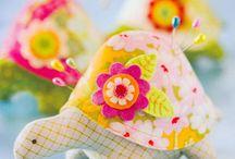 Pretty Pincushions  / by Emma Farley