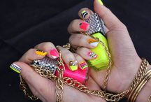 cute nails / by Victoria Lopez
