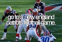 Who's Ready for Some FOOTBALL!?!? / If you're not a Patriots fan, you need to move on. / by Jessica Ryan