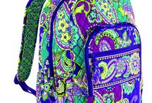 Vera Bradly  / cute colorful backpack! <3 / by Jazzy Shireman