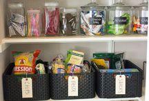 Organization Tips & Tricks / by Rebecca H.