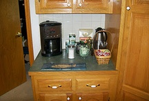 Coffee/tea center / by Lu Harvey