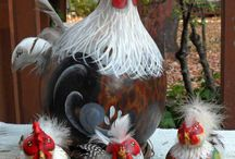 Roosters and hens / by Diane Lewis
