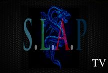 S.L.A.P TV & DVD MAGAZINE / Plot Outline: TV Show of Behind scenes of Entertainment Industry; Filming, Shows, Events, Concerts Movies -Various Musicians, Athletes, Celebrities, & Comedians on set behind the scenes all major events / by Live Wire Records