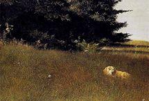Andrew Wyeth, N.C. Wyeth and Jamie Wyeth / by Nancy D'Ercole