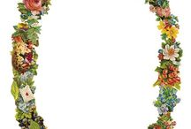 Vintage Clip Art: Borders, Corners and Frames / Vintage clip art in borders, corners and frames to illustrate documents, letters, blogs etc. Great for family tree  art. / by Jill Ness