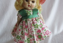 Ginny dolls / by Mary Burkhalter