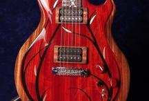 """Guitarz Of Red"" / by John Beacher"