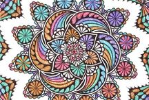 Art: Zentangle Colored / by Holly Roth