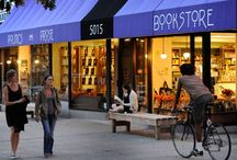 A Town Isn't A Town Without a Bookstore / Support your local bookstore and Give Books this holiday! www.chroniclebooks.com/givebooks / by Chronicle Books