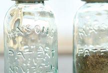 mason/ball jar fun... / by Sandi White Thomas