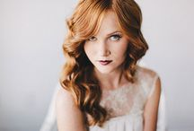 Bridal Hair / Hair ideas for the wedding day / by Nathan {Artemis Stationery}