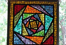Mosaic Magic/Stained Glass / by Tercia du Plessis