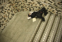 Exhausted People Caught Falling Asleep in Tokyo / by Peter Schorsch
