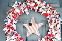 For the Home / great 4th wreath!! / by Sallie Touchton