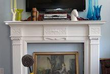 Mantles & Fireplaces / by Jordan Ashleigh