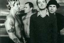 Red Hot Chili Peppers / Red Hot Chili Peppers is an LA funky rock band who formed in 1983. / by Youtube Music Sucks