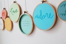 Embroidery Ideas / by Meryl Keegan