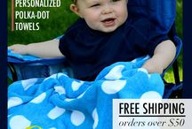 Daily Deals Event / Just in time for the holidays! Join us for 10 days of deals, save on your favorite personalized gifts & don't forget, free shipping on all orders over $50! http://www.babybehip.com / by Baby Be Hip