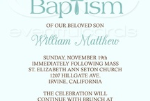 Ethan's baptism / by Amanda Vandenheuvel