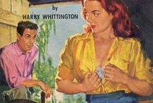 Vintage Bad Girls / I love the tawdry tarts and racy tag lines found on trashy vintage paperback book covers. / by Diana Cook