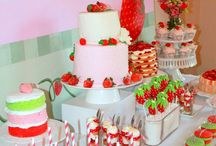 Strawberry Shortcake Party Ideas / by Kara Abrahamsen Lillian Hope Designs