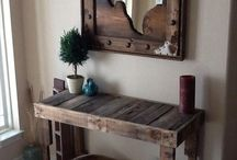 Pallet furniture and projects / by Jessica Harmon