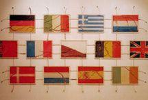 flag art / by Catharyn Tivy