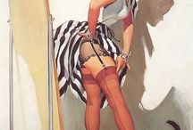 Pin-up A.R.T / Pin up ladies / by Harlee Cole