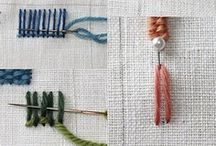Crafty - Embroidery / Inspirational work, basics & techniques  / by Janneke Maat