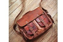 leather bags and stuff / by Brad Ford