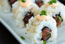 Sushi / by Shannon Stoutenborough