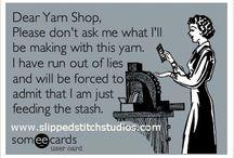 Yarn Humor / by New Stitch A Day