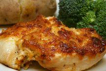 Chicken, Chicken, and more Chicken / chicken recipes / by Mamie G Statham
