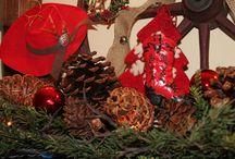 Christmas at O-Bar-O Cabins / Christmas shots of the cabins at Christmas time / by O-Bar-O Cabins