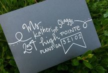 envelope style / by Noel Culbertson