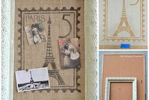 Burlap projects... / by Teresa Mabrey