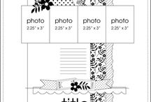 Layout sketches / by Valerie Desseaux Andrieux