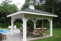 Decks, Porches & Patios by Baybrook Remodelers / Decks, porches and patios designed and installed by Baybrook Remodelers. / by Baybrook Remodelers
