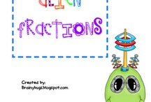 Math-Fractions / by Jenniffer Pope