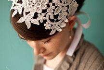 Wedding Hair Accessories / Beautiful wedding hair ideas using accessories.  / by Pretty Pear Bride® | Plus Size Bridal Magazine