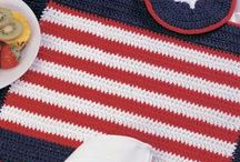 That's Pinteresting - National Holidays  / Crochet July 4th and Canada Day projects / by The Crochet Crowd