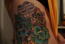 ink on my skin please / by Heaven Lewis