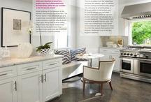 kitchen inspiration / by Evars + Anderson Interior Design