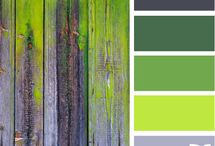 Cool colour palettes / by Rayne Leafe